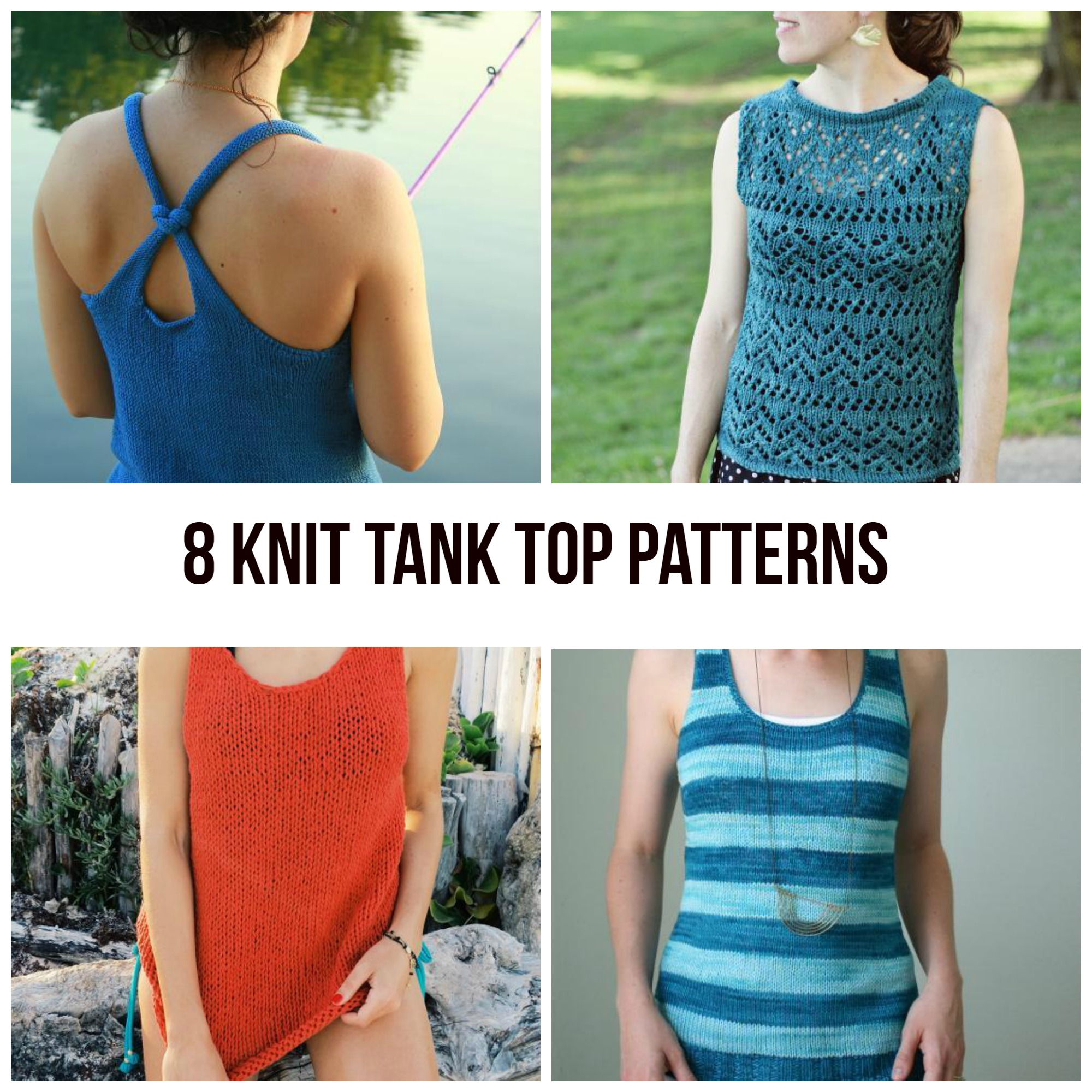 Knit Tank Top Patterns
