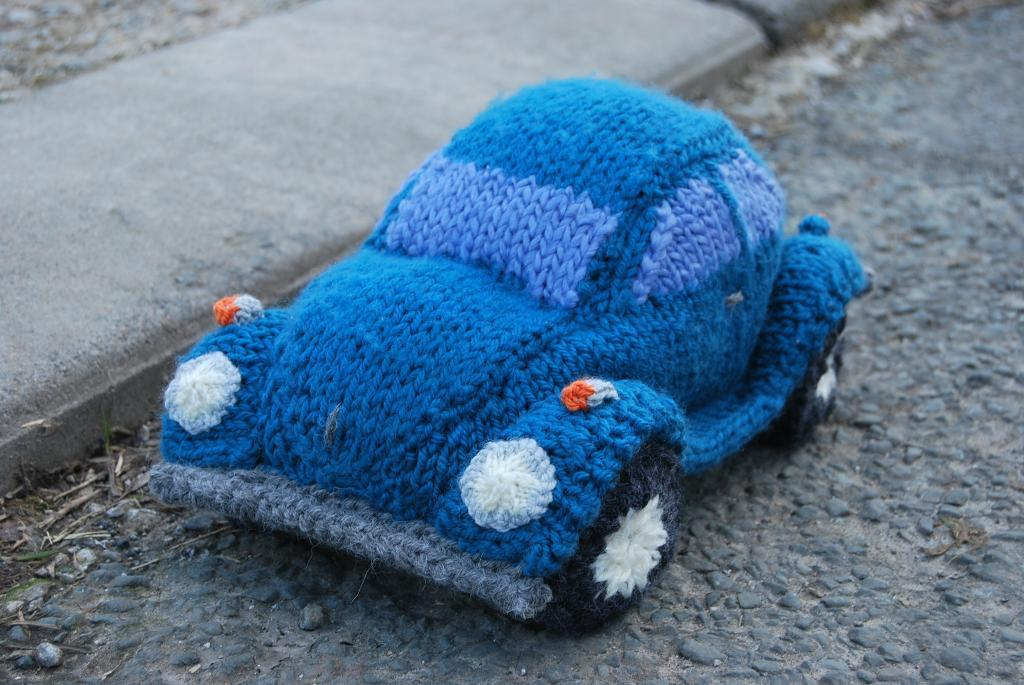Knitted Model Beetle Bug