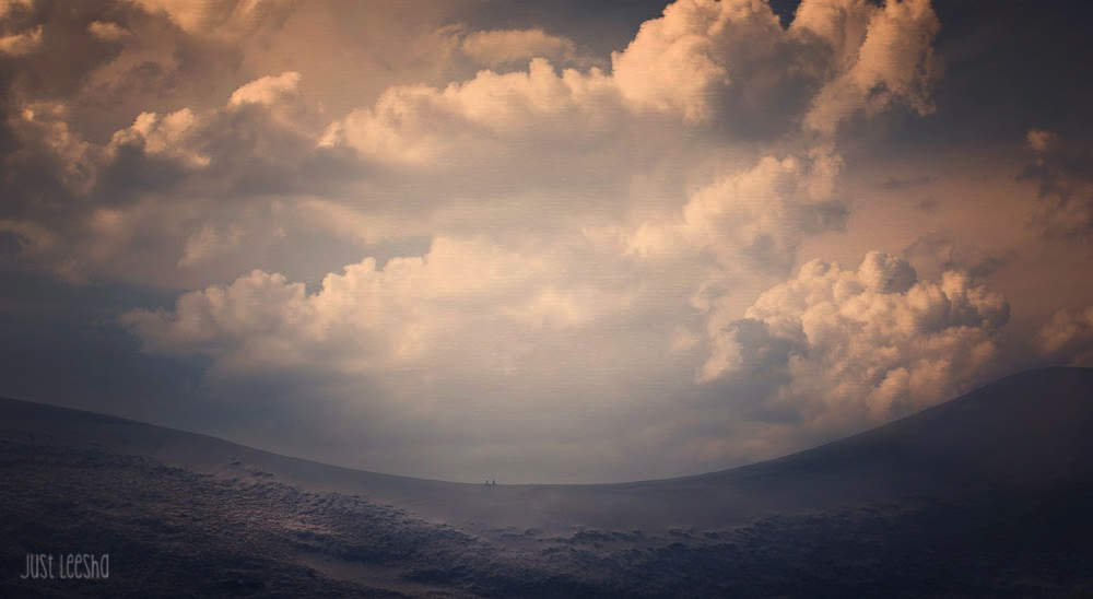 Layer1 of cloud landscape image in PhotoShop