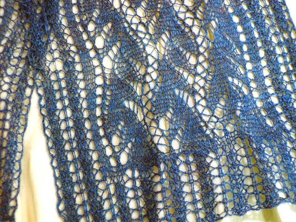 Lead or Follow Lace Scarf pattern