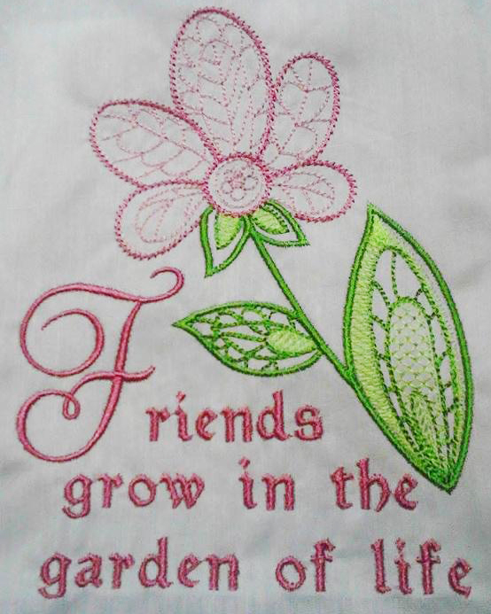 Machine Embroidery Tips