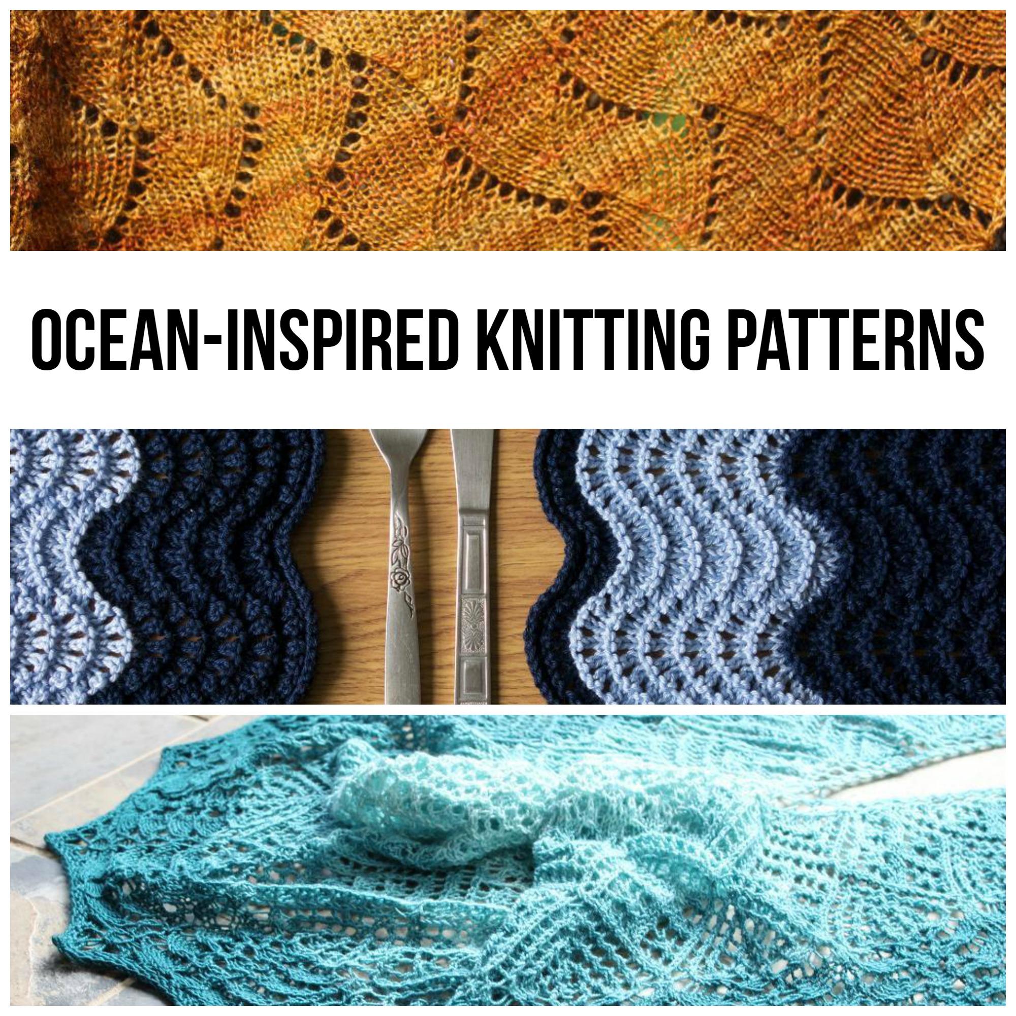 Ocean-Inspired Knitting Patterns