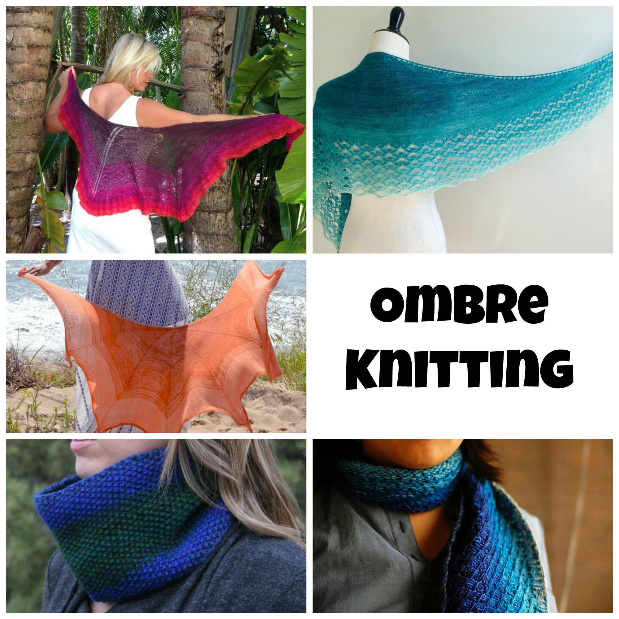 Ombre Knitting