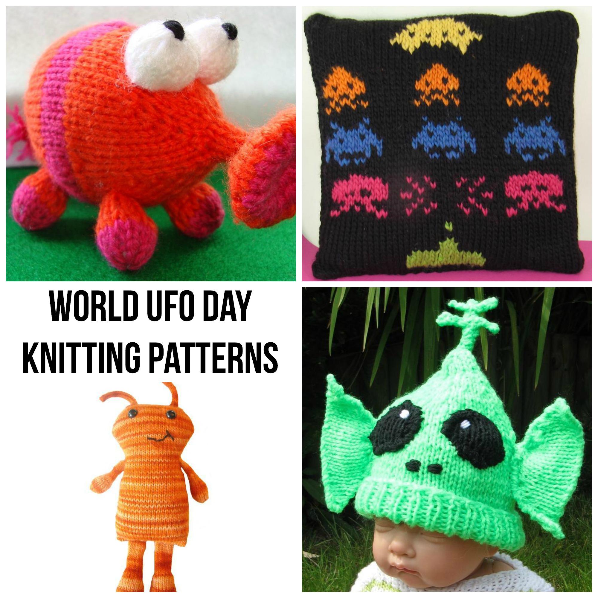 World UFO Day Knitting Patterns