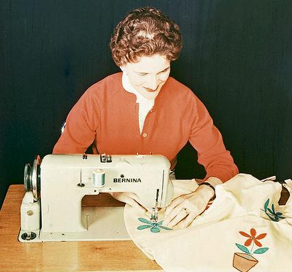 bernina vintage embroidery