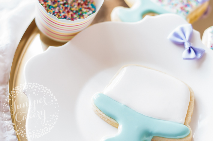 Create easy yet fun birthday cake cookies for themed dessert tables