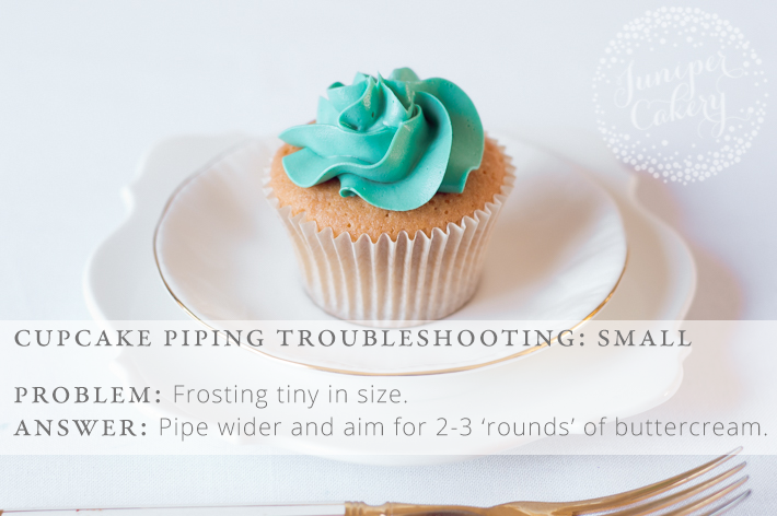 Too small icing