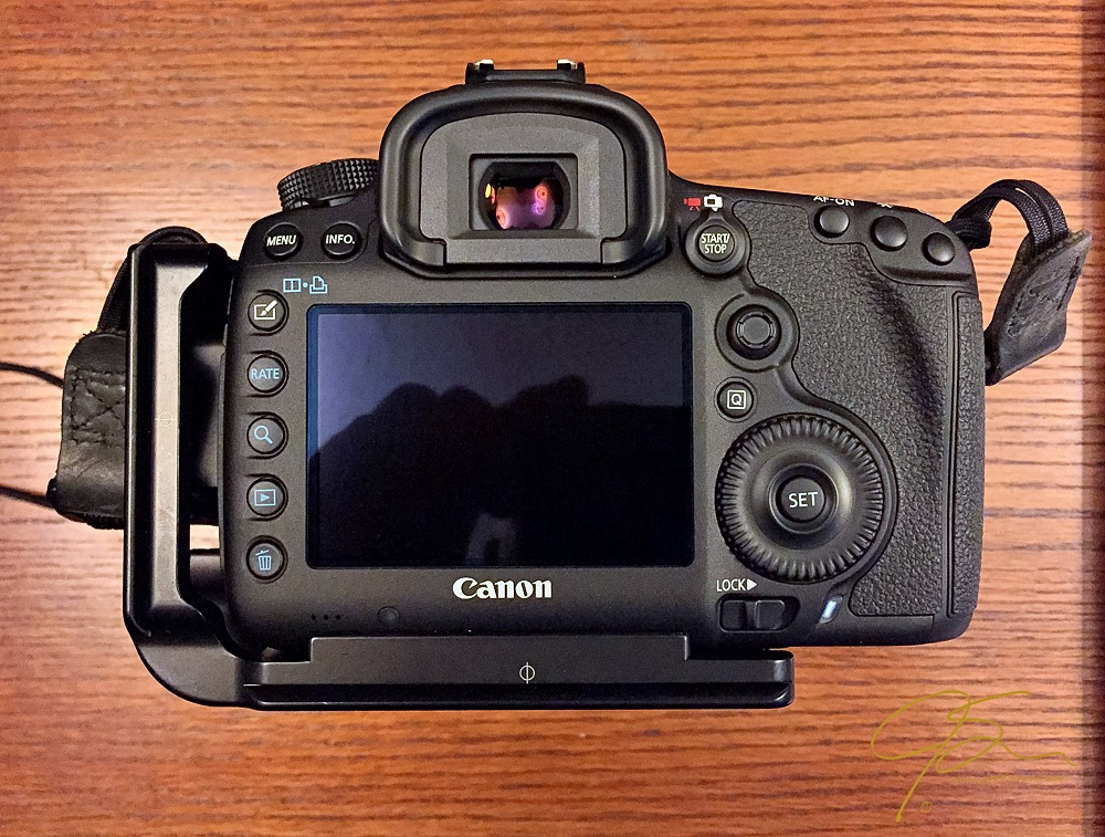 camera back of Canon 5DMkIII