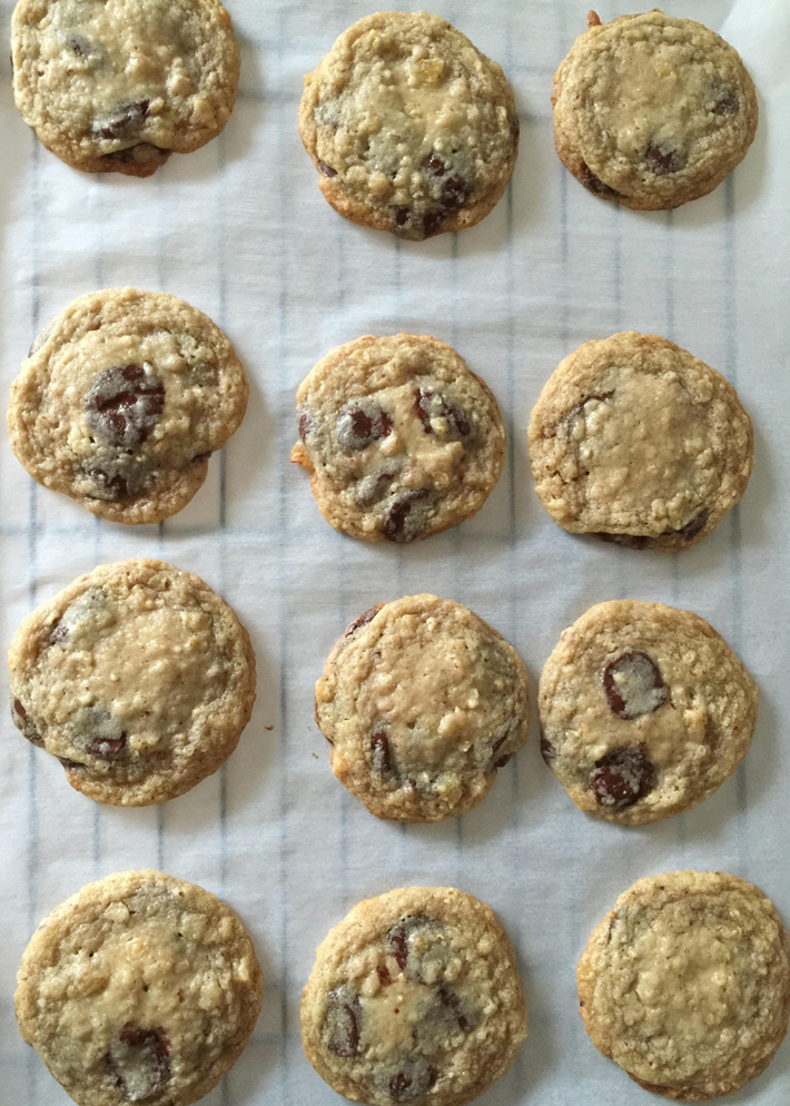 chocolate potato chip cookies