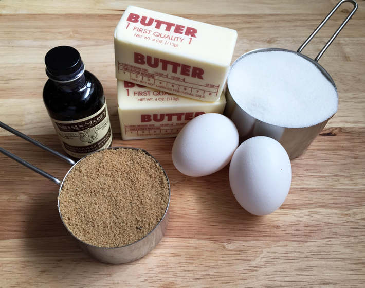 ingredients for chocolate potato chip cookies