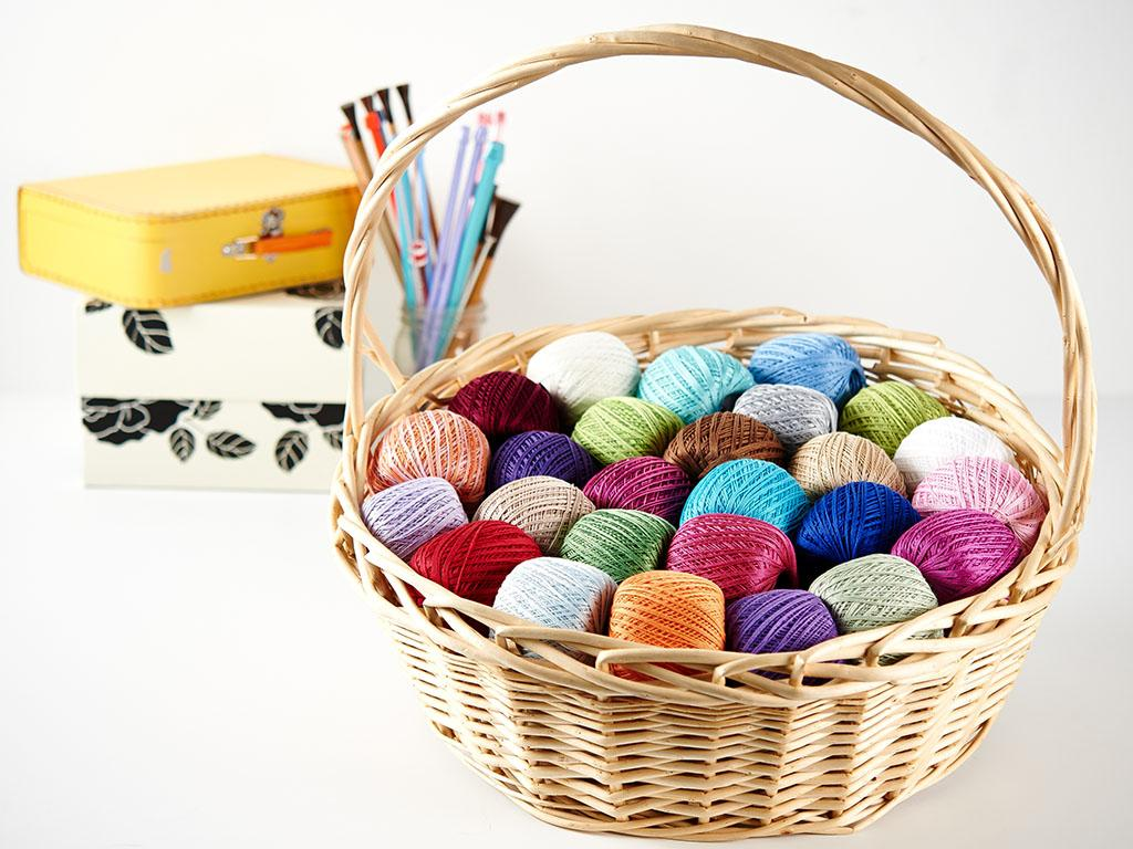 Nazil Gelin Garden Cotton Lace Weight Yarn