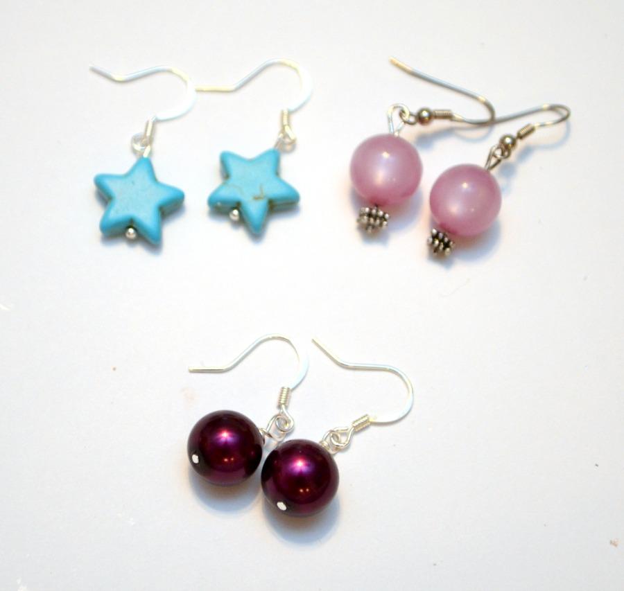 Dangle Earrings in Various Styles