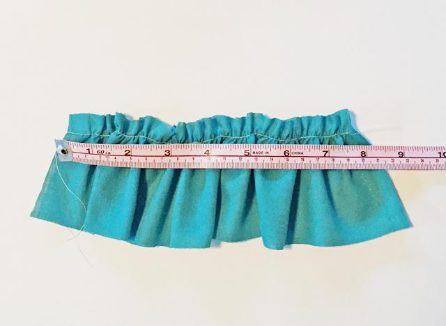 measure gather length