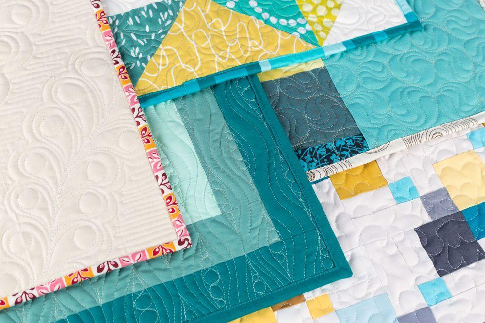 free motion quilting designs class