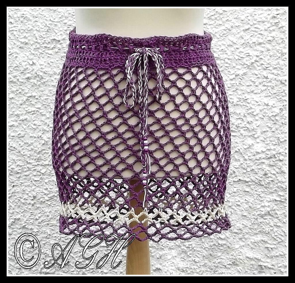Beach Skirt/Poncho FREE Crochet Pattern