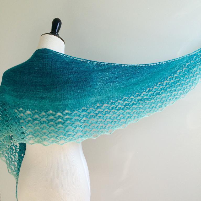 Havasu Falls Shawl Knitting Pattern