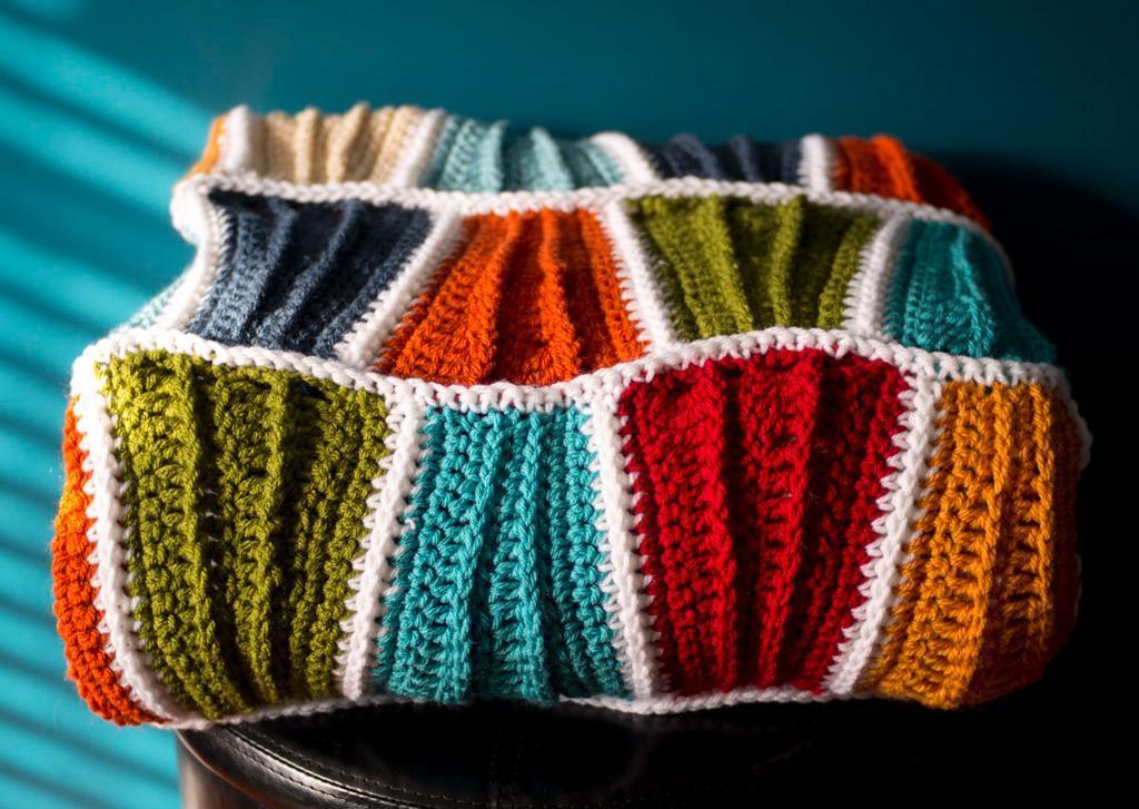 Surf City Beach Blanket Crochet Pattern