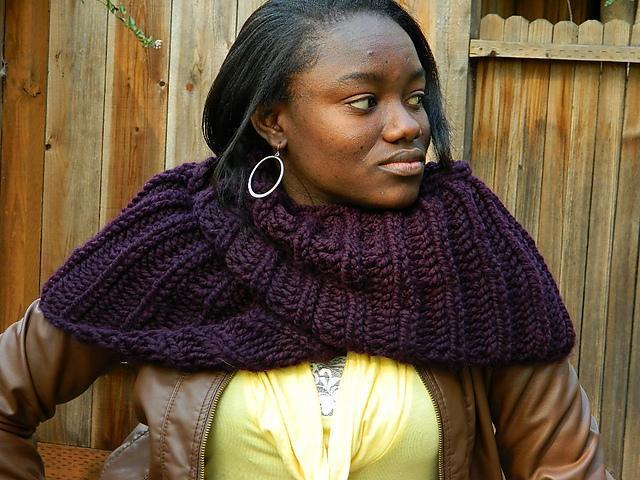 Procragratification Infinity Scarf FREE Knitting Pattern