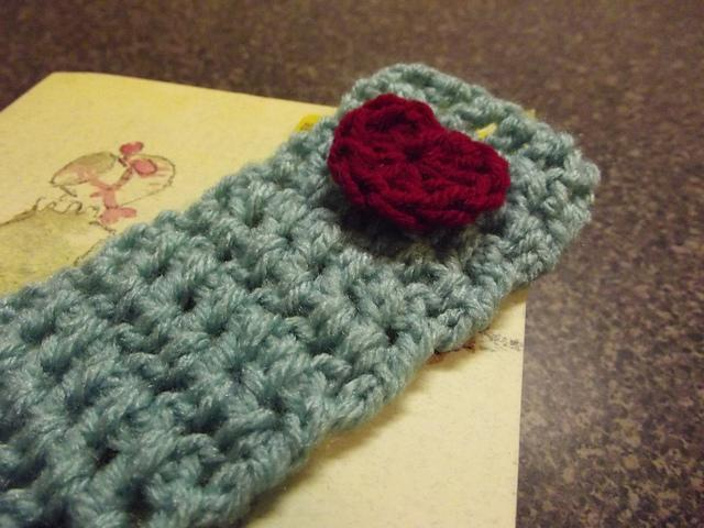 Free Crochet Bookmark Pattern