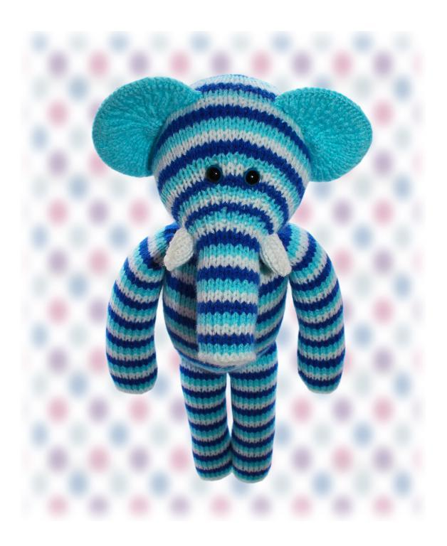 Elephant Knitted Toy Pattern