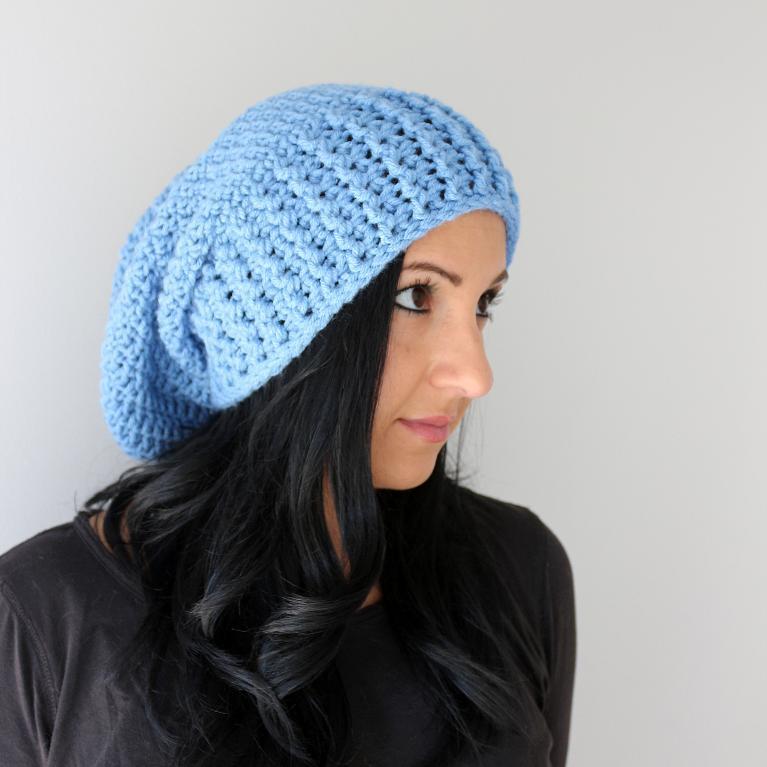 Zurich Wide Brim Slouchy Hat Crochet Pattern