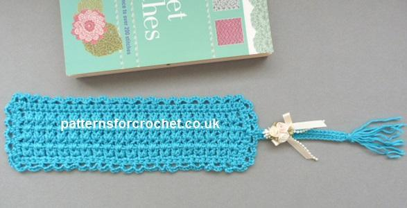 Tasseled Bookmark FREE Crochet Pattern