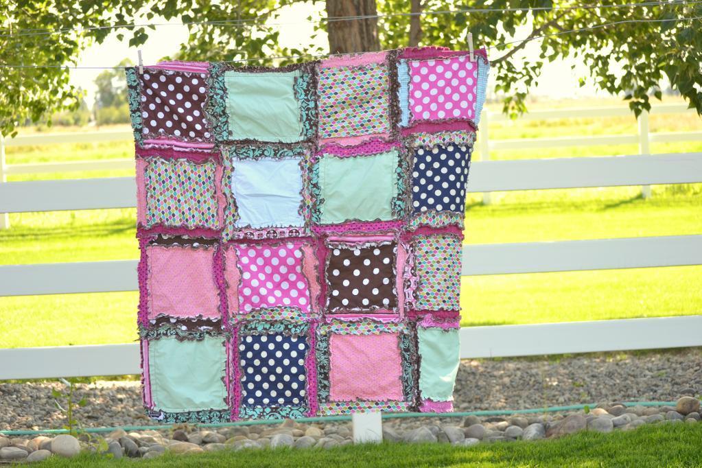 Easy Peasy Rag Quilt Pattern