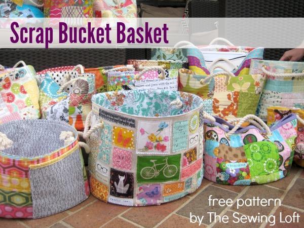 Scrap Bucket Basket