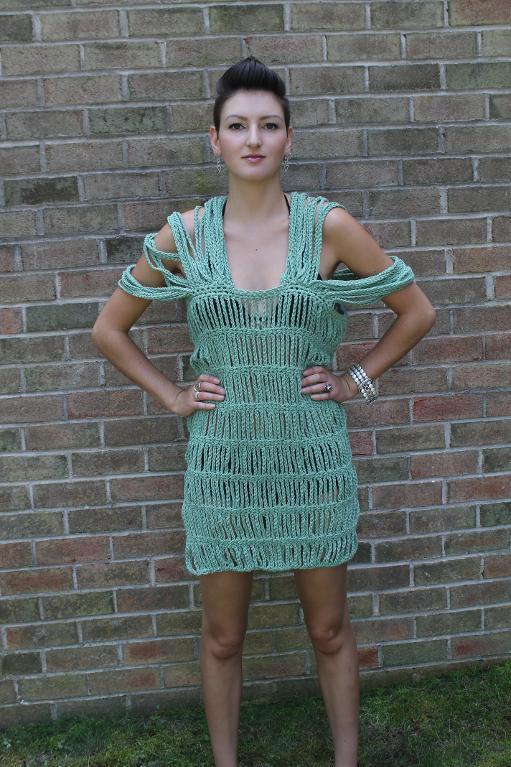 Ursula Swimsuit Coverup Crochet Pattern