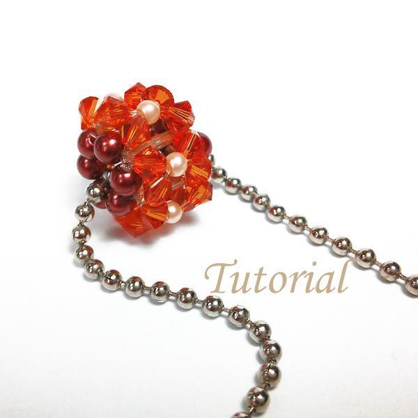 Beaded Antique Rolly Bead Pendant Jewelry Tutorial