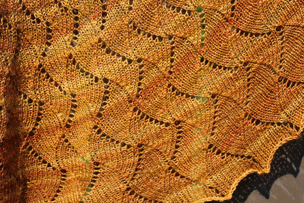 Waves Along the Shore Knitting Pattern