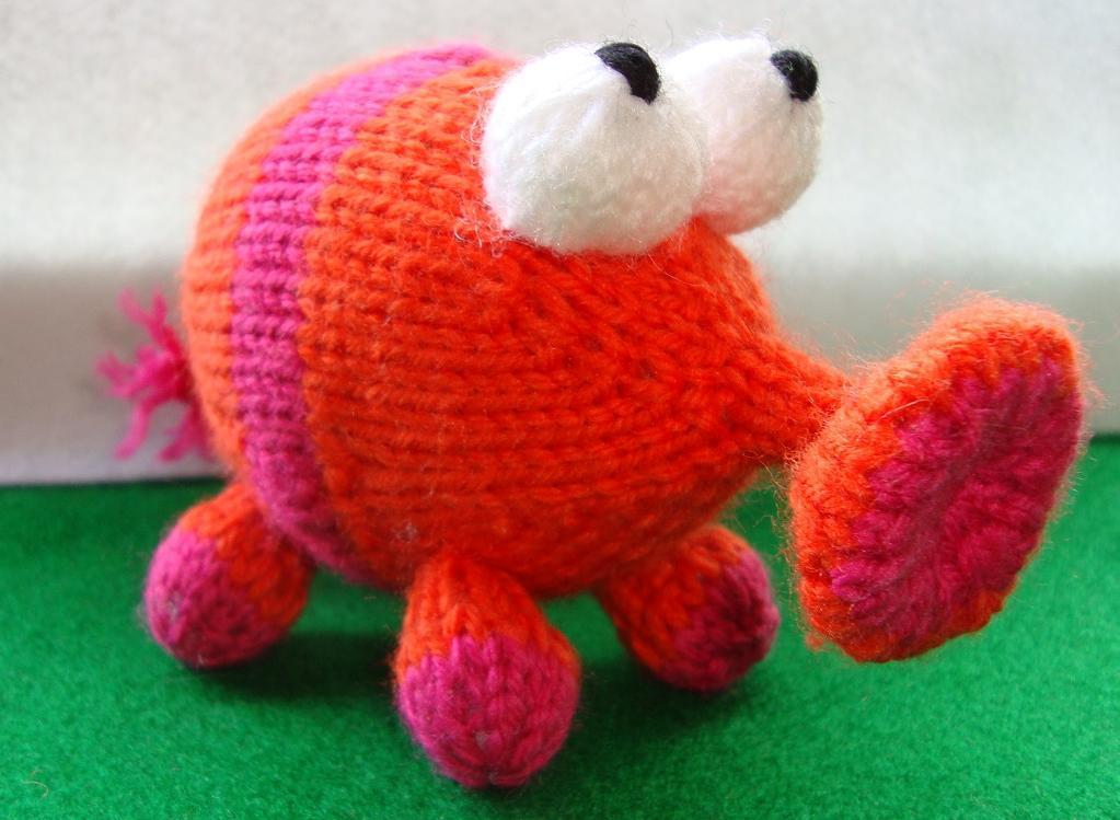 The Snufflelump Knitting Pattern
