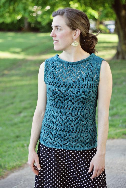 Sirin Tank Knitting Pattern