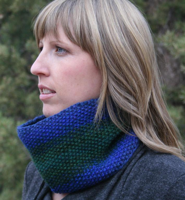 Ombre Cowl Knitting Pattern