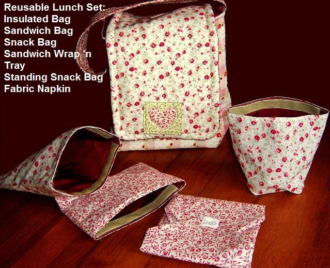 Insulated Picnic Large Lunch Sack Sewing