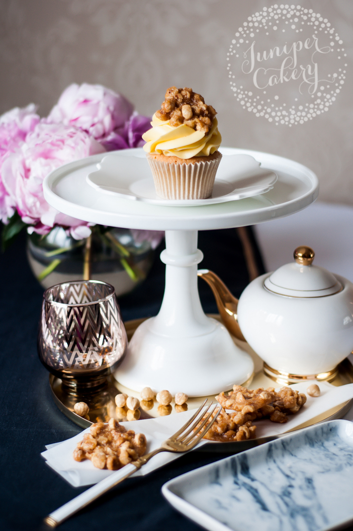 Decorate cakes and cupcakes with this simple hazelnut praline recipe