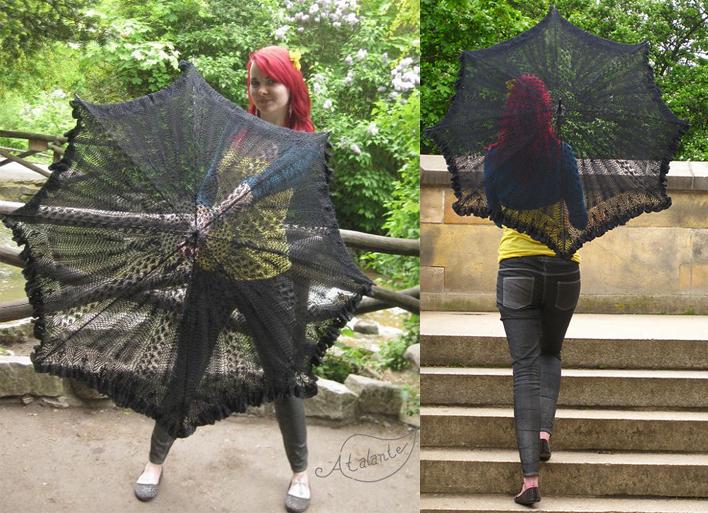 Lady of the Lake Parasol Lace Knitting Pattern