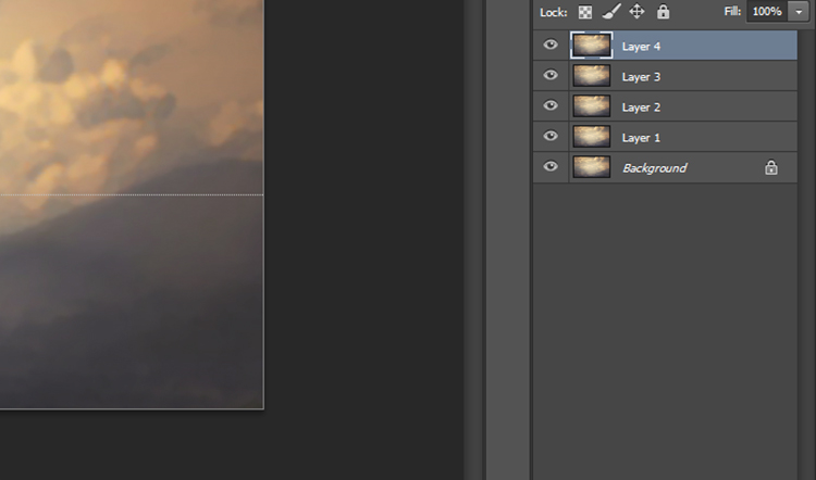 adding layers in PhotoShop