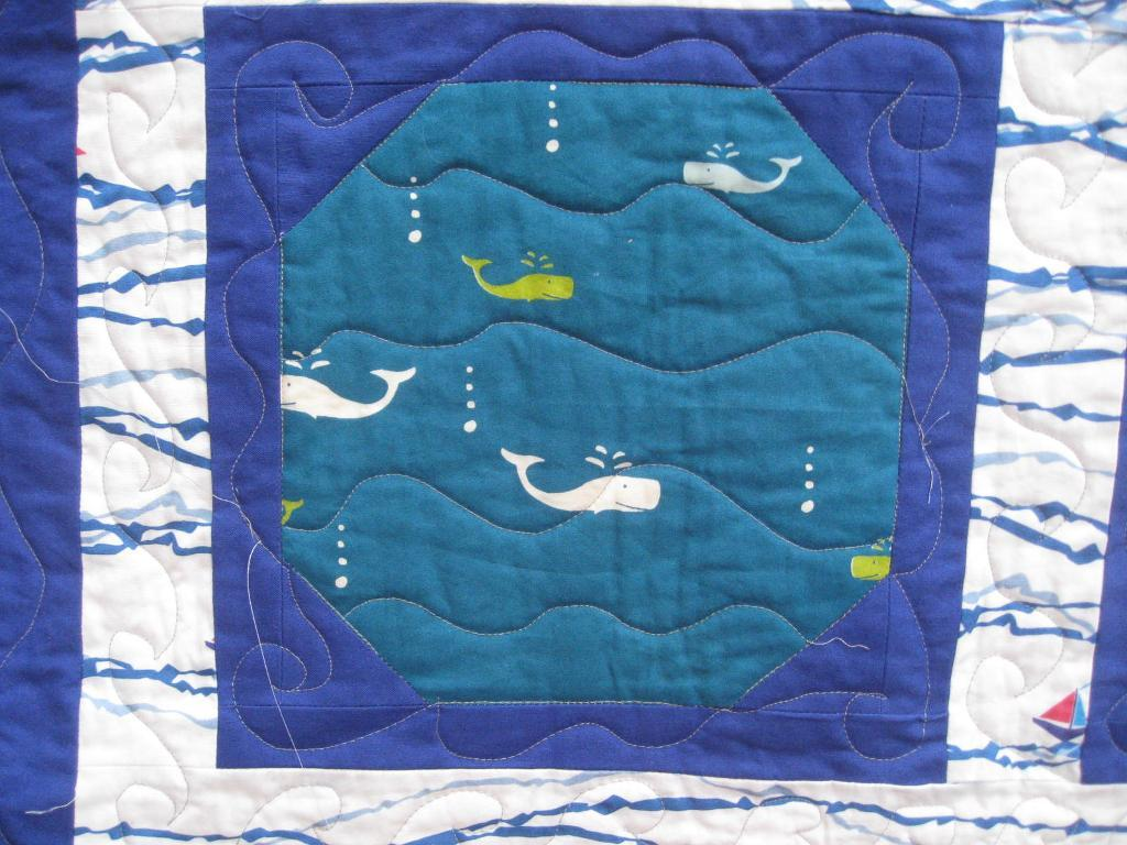 nautical free motion quilting designs