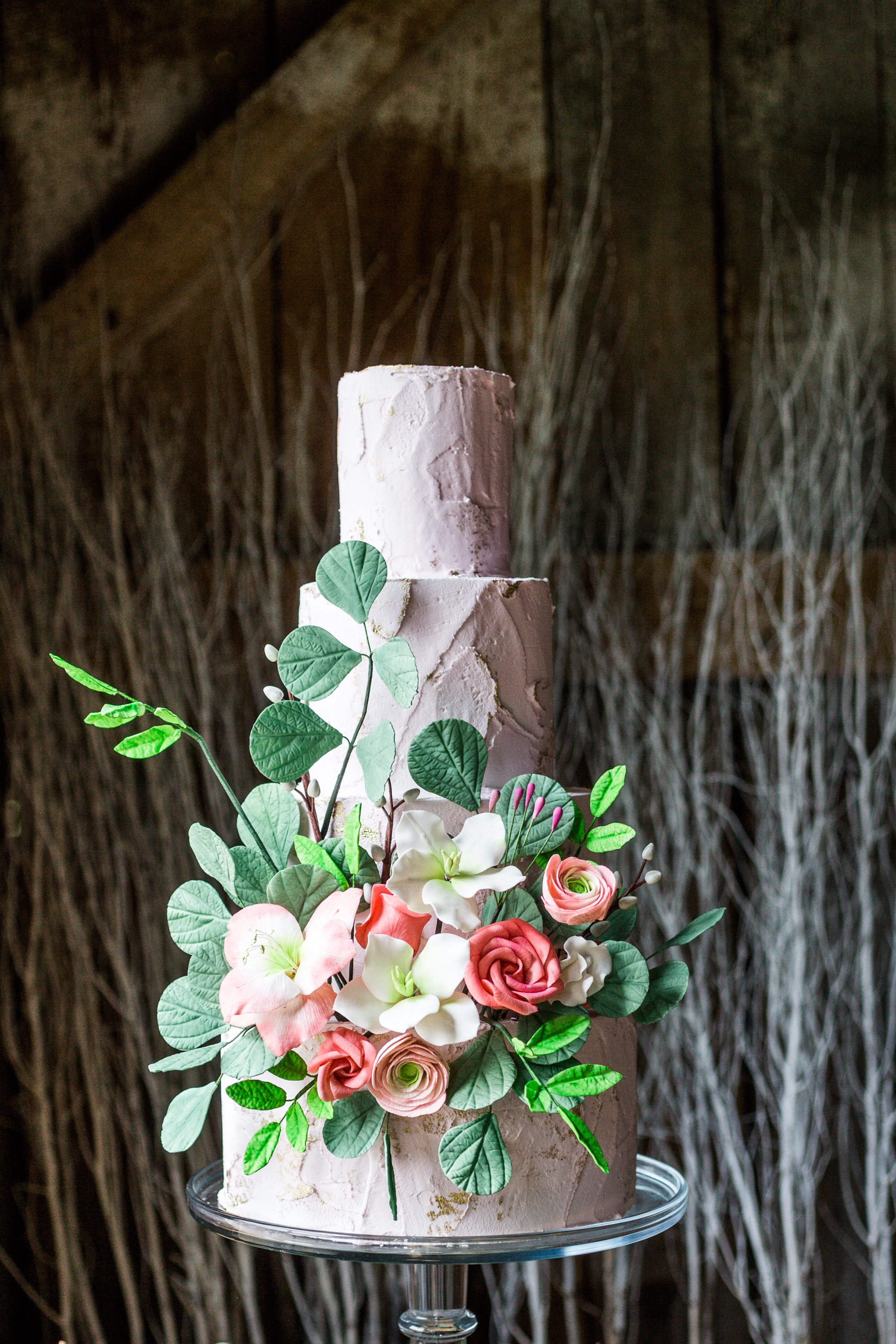 Cake via Bluprint Instructor Erin Gardner | Filler Flowers