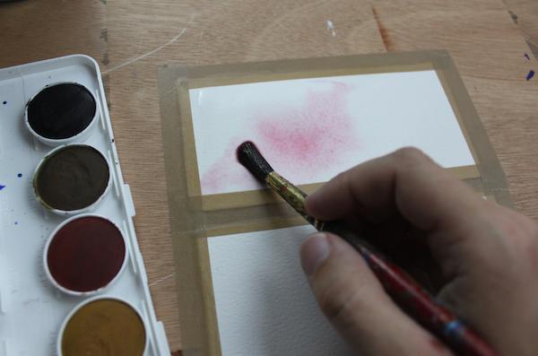wet on wet technique step 2