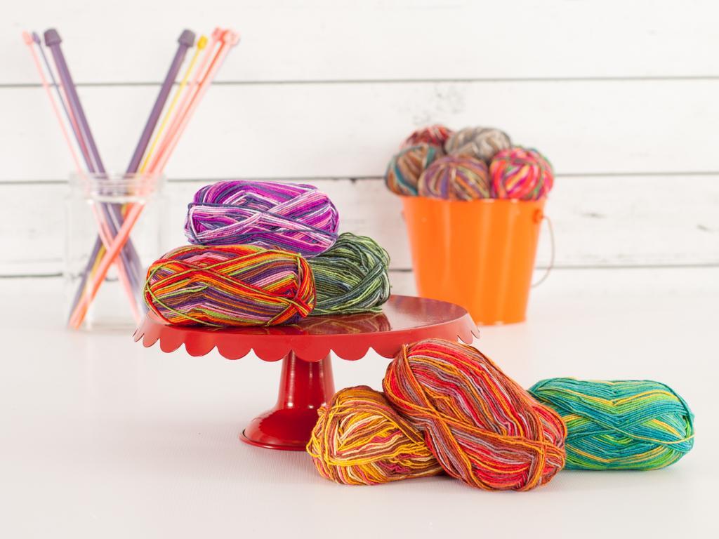 Wool-Free Sock Yarn