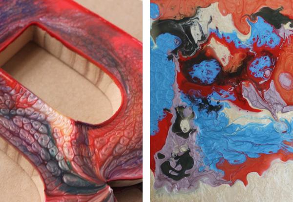 Comparison of paints