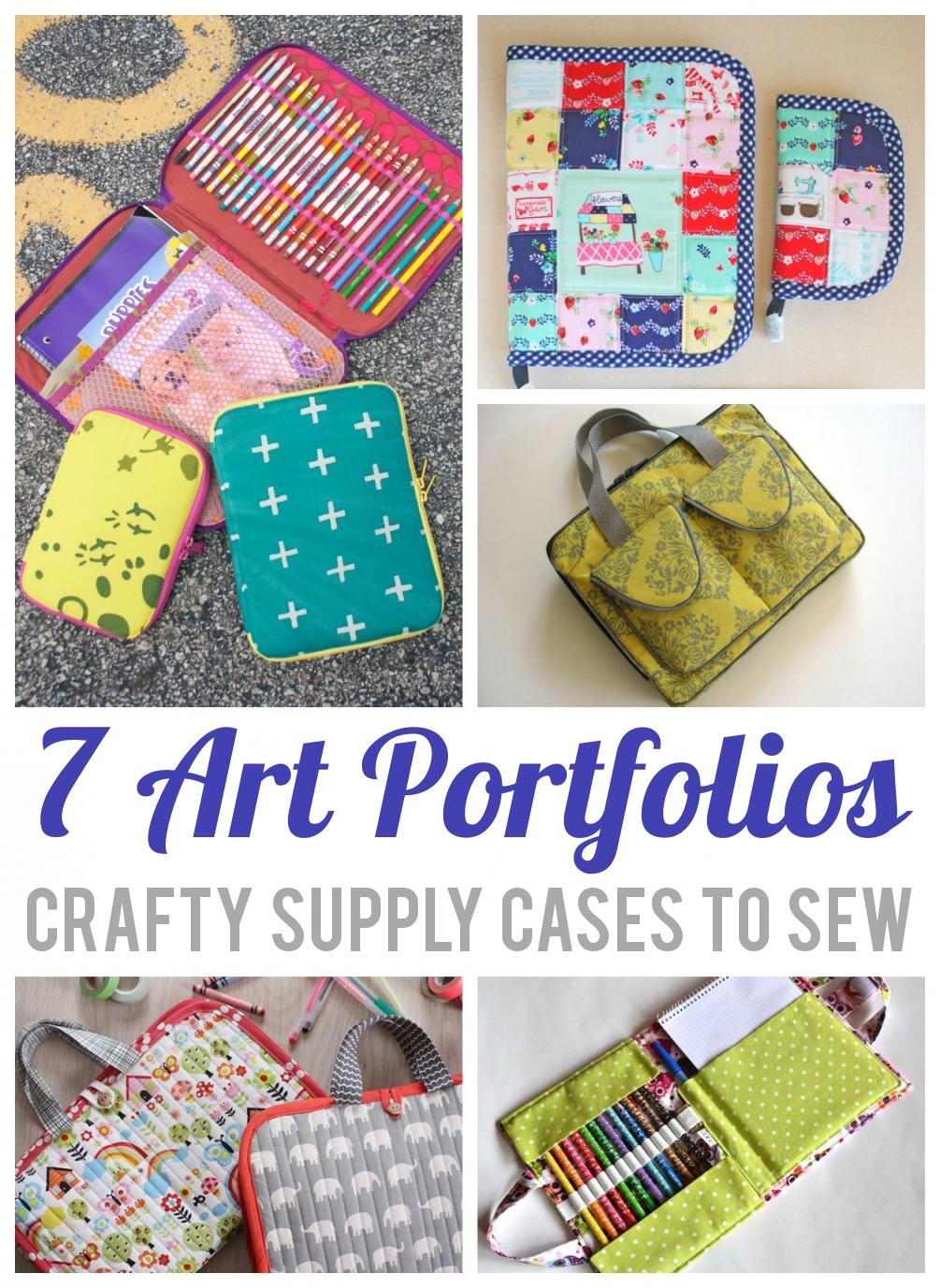 7 Art Portfolios: Bluprint Supply Cases to Sew