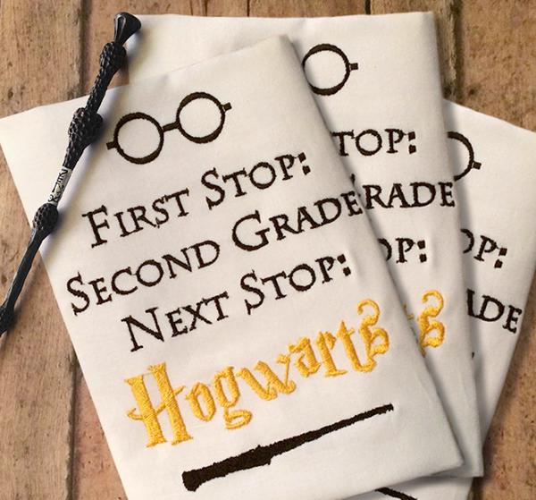 Back to School Harry Potter Set