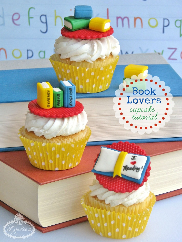 Book Cupcakes Tutorial