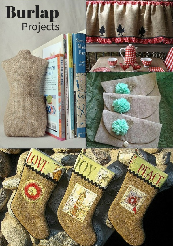 Tips for Sewing with Burlap