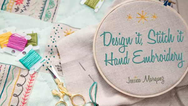 Design It, Stitch It: Hand Embroidery Class