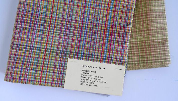 High Quality Silk-Wool Blend Slipcover Fabric