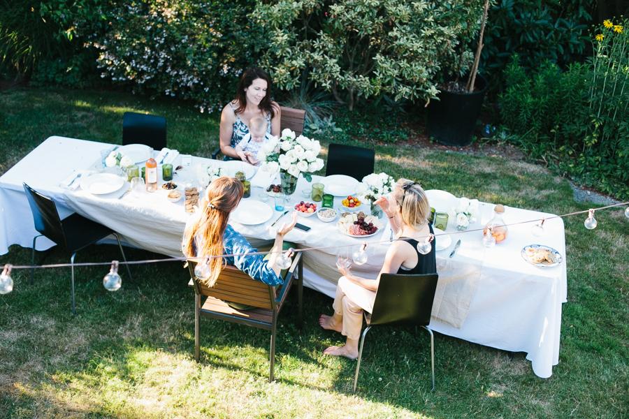 Host a picnic potluck